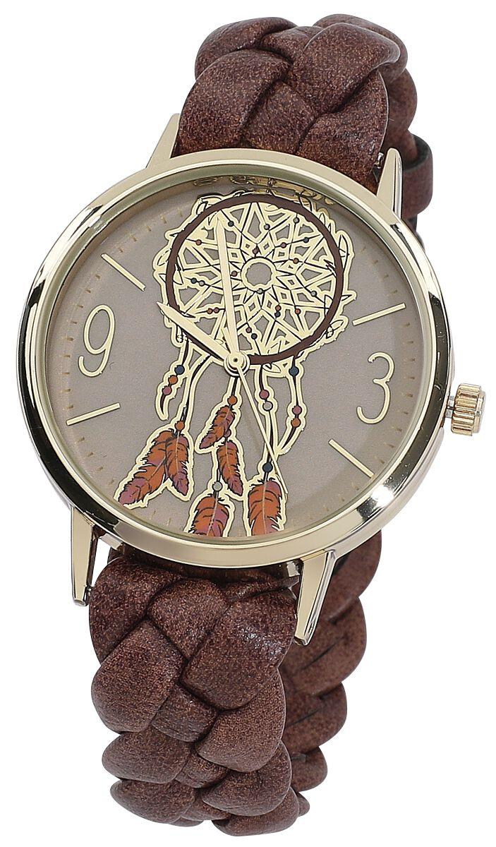 Traumfänger -  - Armbanduhren - braun