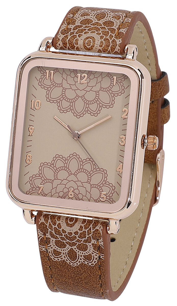 Boho -  - Armbanduhren - braun