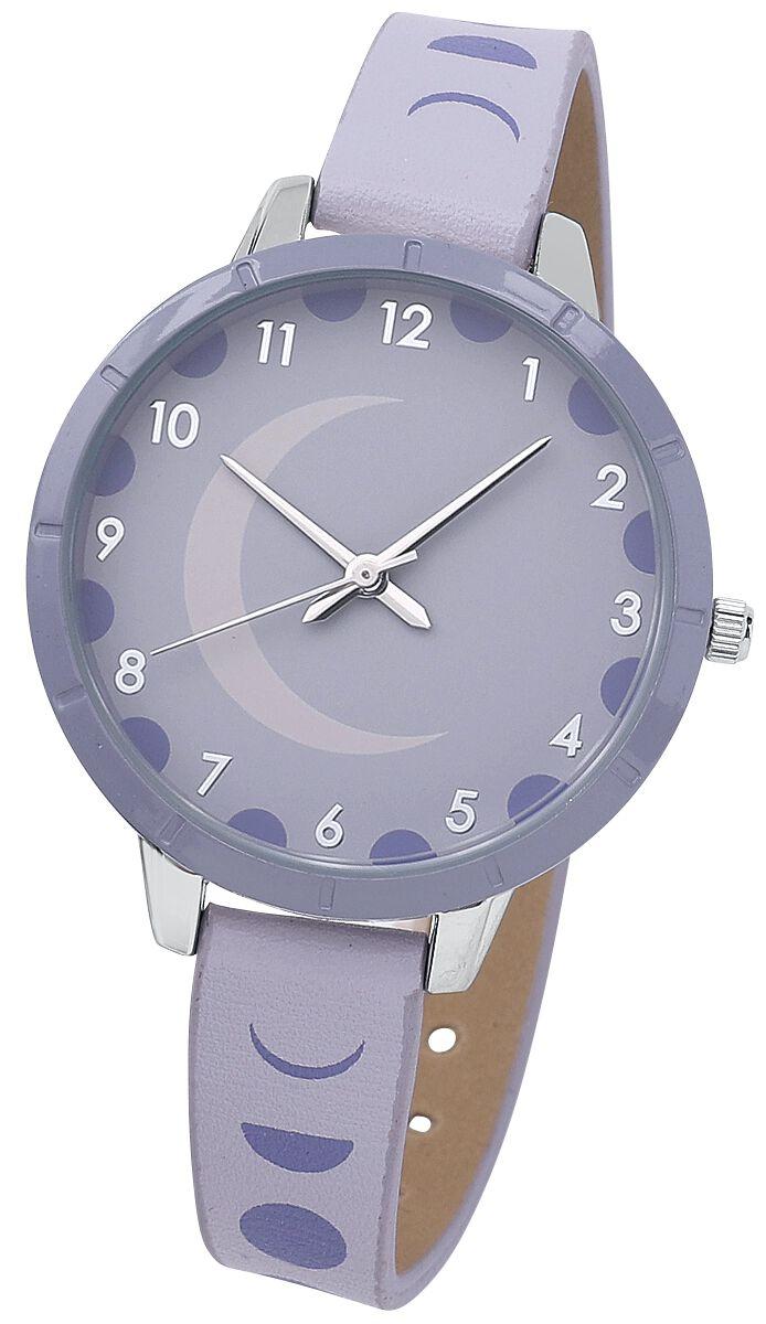 Mondphasen -  - Armbanduhren - blau