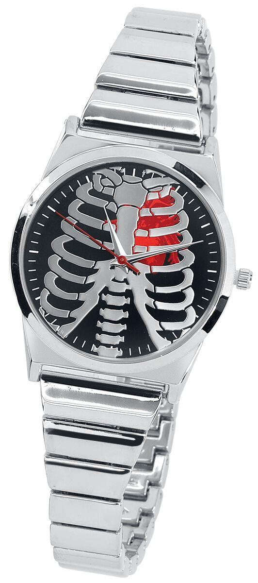 Big Heart -  - Armbanduhren - silberfarben