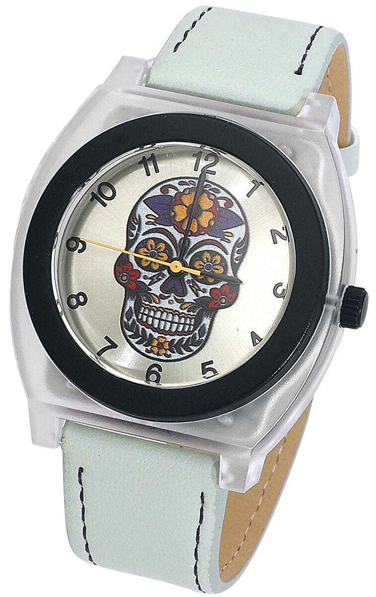 Blumenschädel -  - Armbanduhren - multicolor