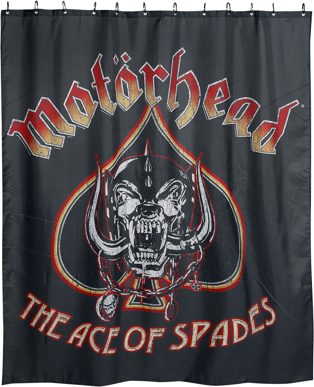 Motörhead - Ace Of Spades - Duschvorhang - multicolor