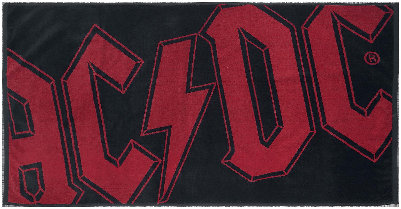 AC/DC - Logo - Handtuch - multicolor - EMP Exklusiv!