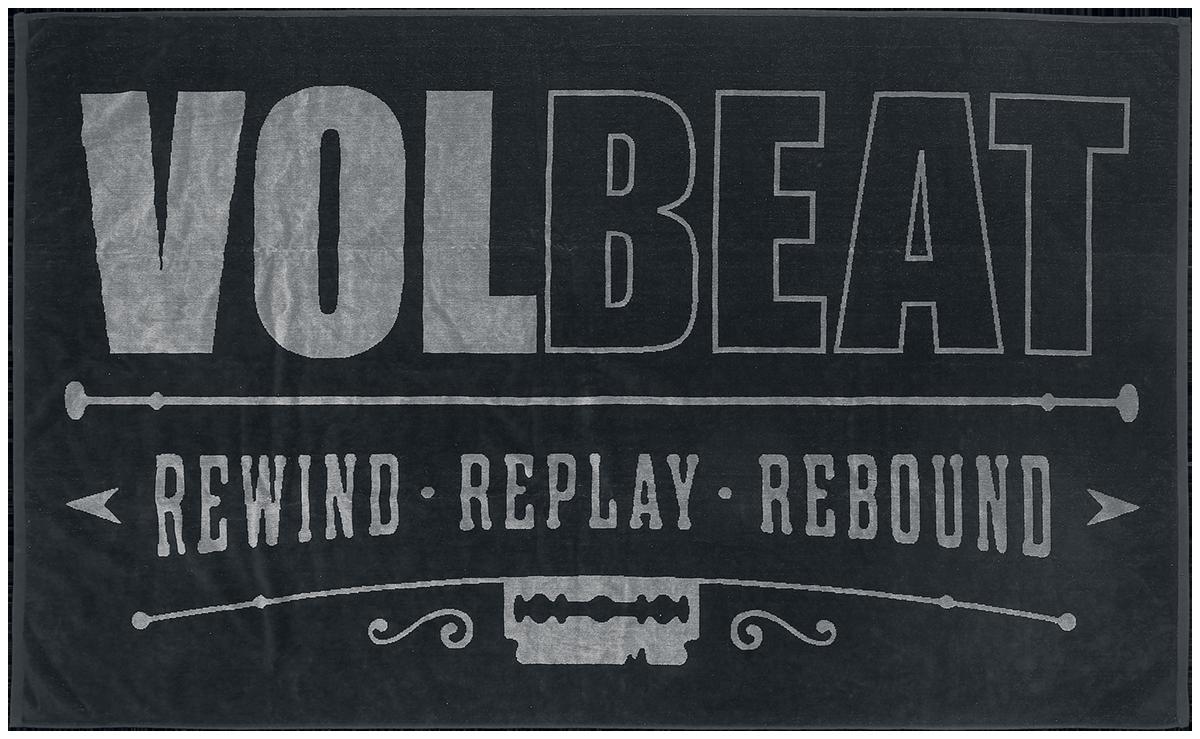 Volbeat - Rewind replay rebound - Handtuch - multicolor - EMP Exklusiv!