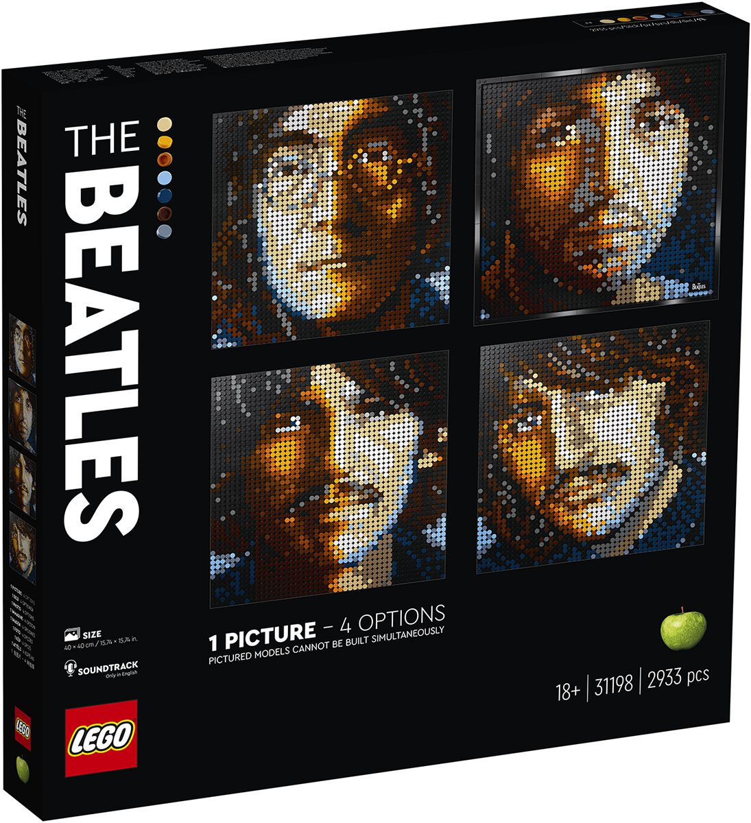 The Beatles 31198 - The Beatles Lego multicolor 6294856