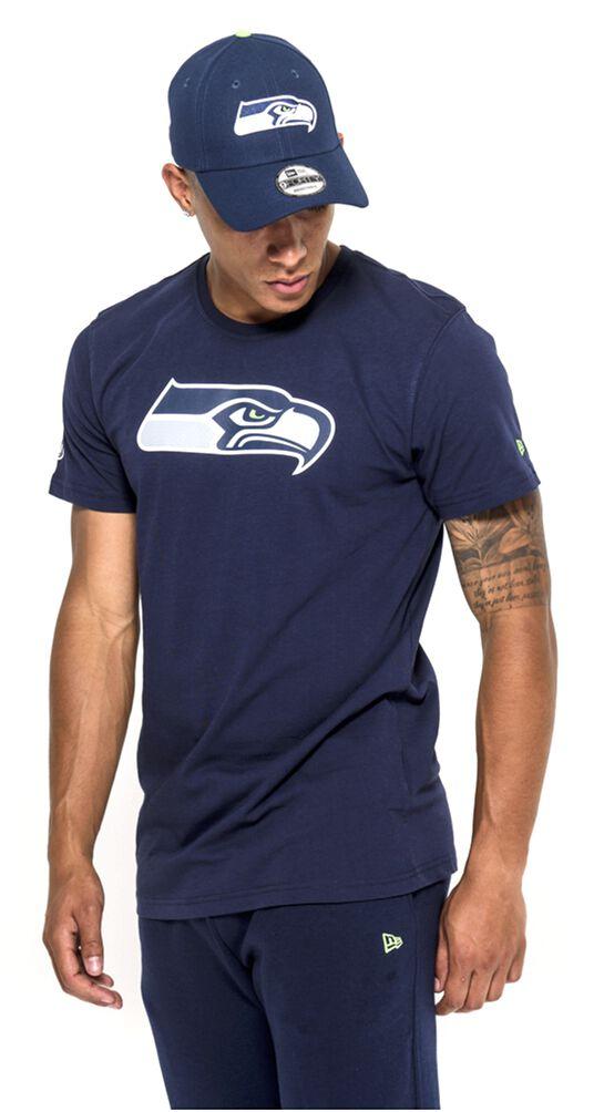 New Era - NFL Seattle Seahawks T-Shirt blau 11073652