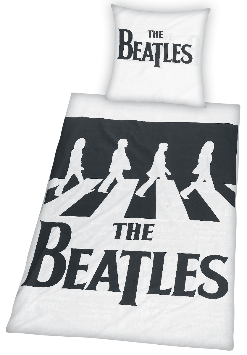 The Beatles - Abbey Road - Bettwäsche - multicolor