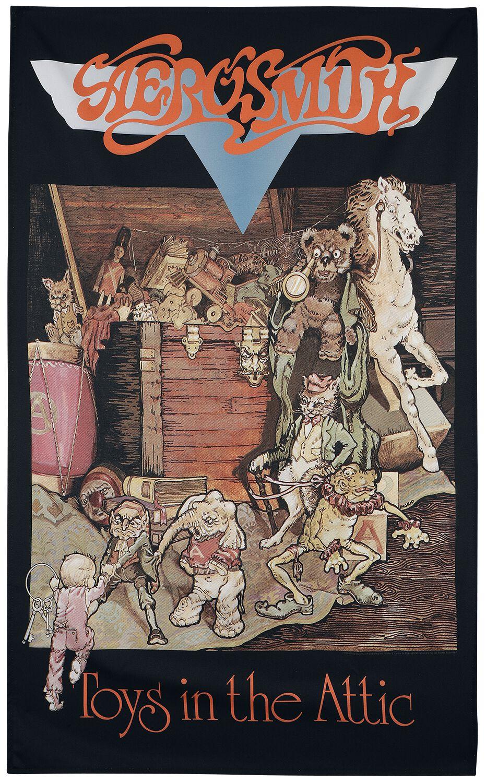 Image of Aerosmith Toys in the attic Textilposter multicolor