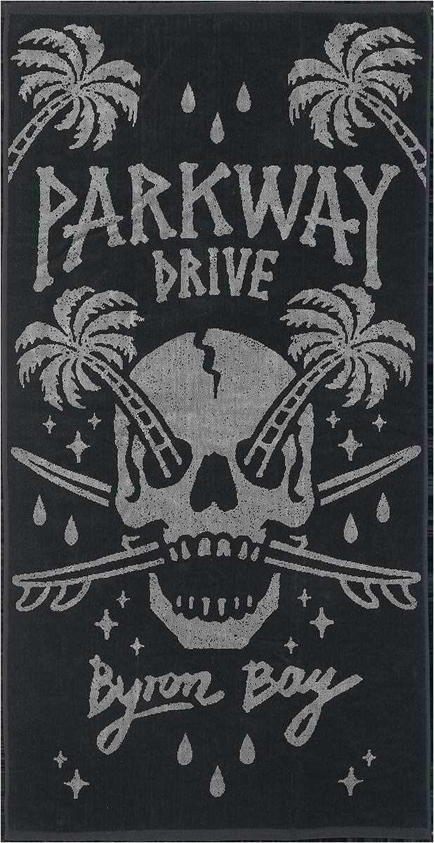 Parkway Drive - Byron Bay - Handtuch - multicolor - EMP Exklusiv!