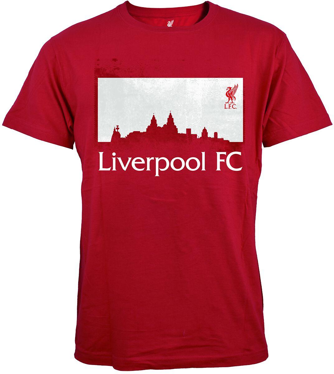 FC Liverpool Liverpool FC T-Shirt rot LIV1CC6