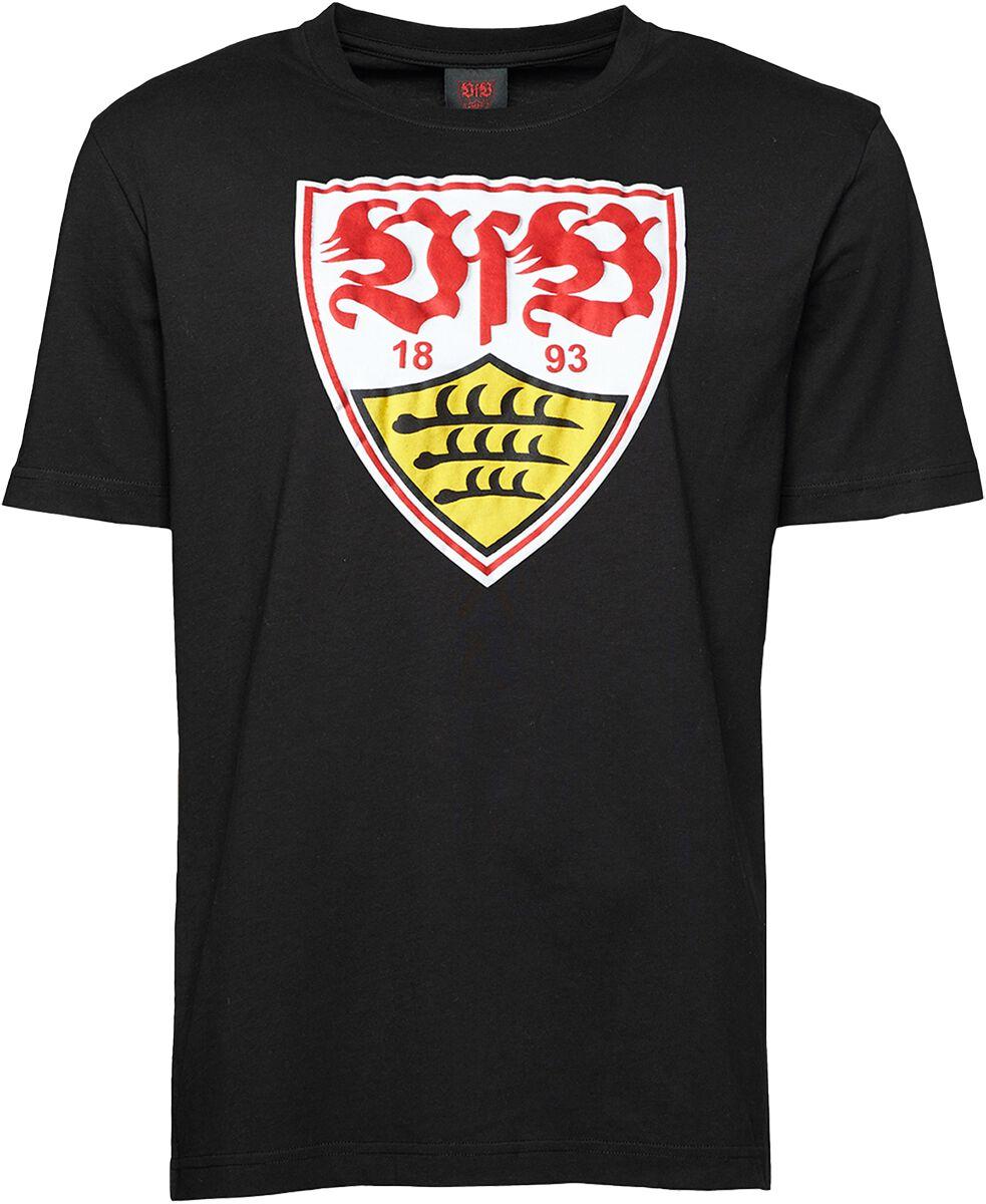 VfB Stuttgart Wappen T-Shirt schwarz 15195