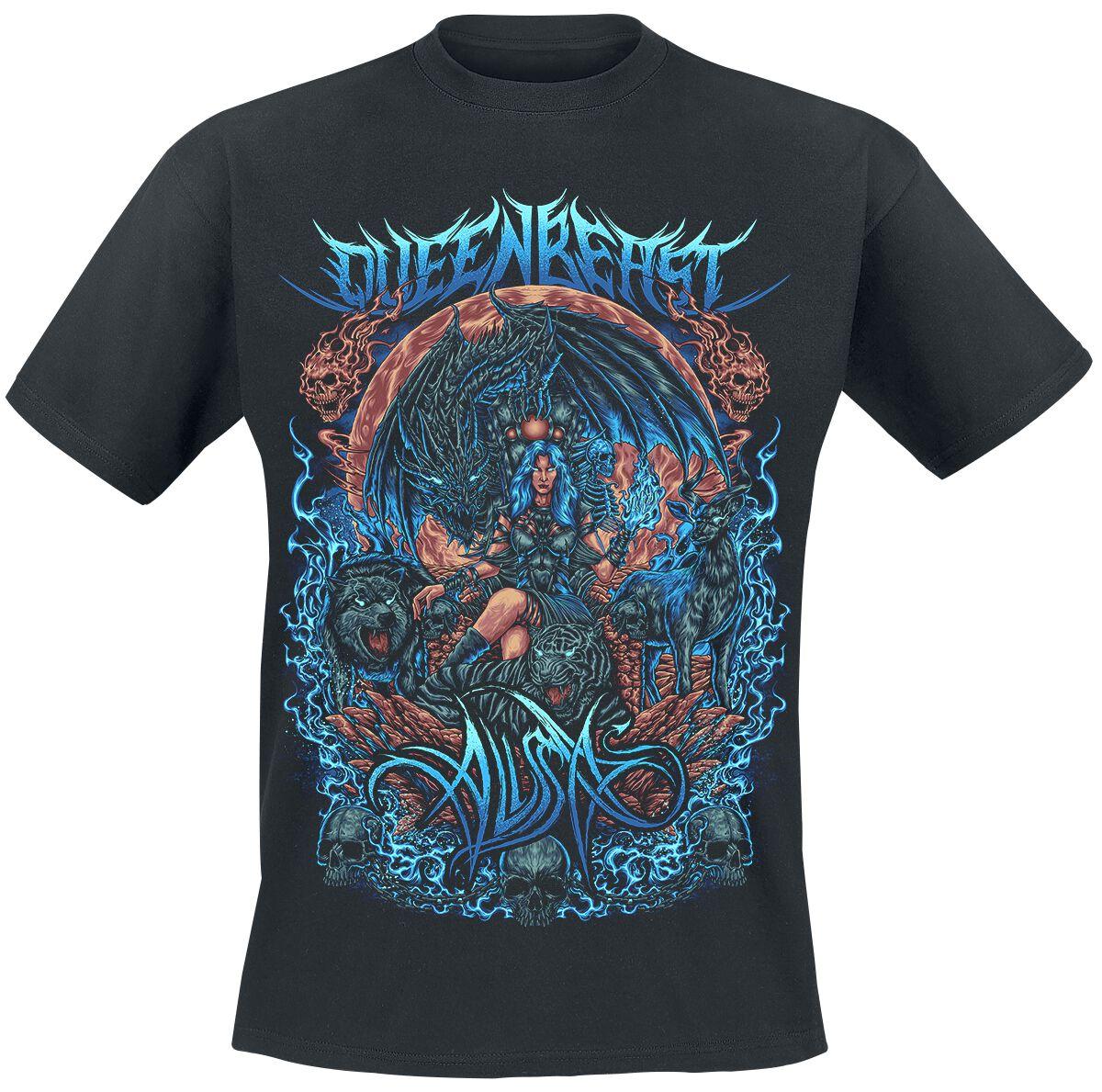 Image of Alissa Queen Beast T-Shirt schwarz