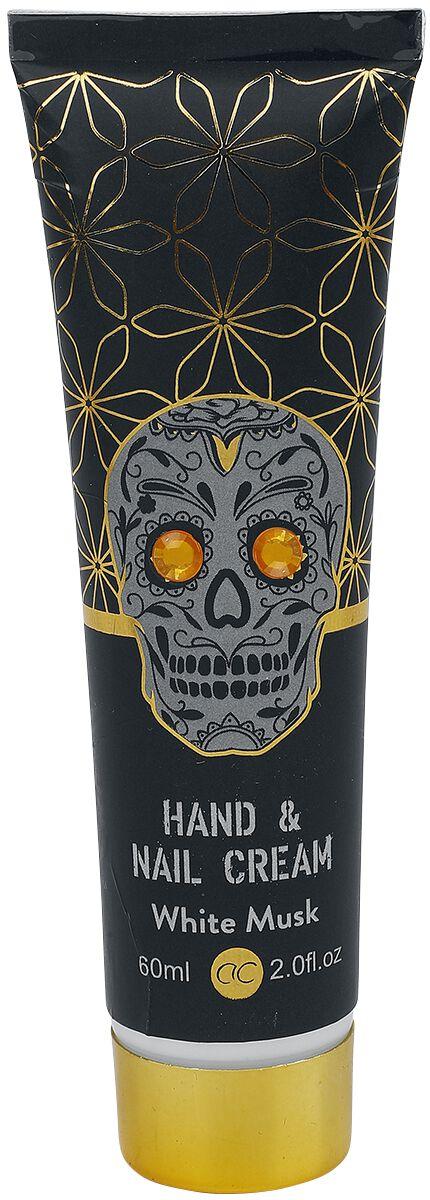 accentra Skull Chic Rock Hand- und Nagelcreme  Handcreme  schwarz/goldfarben