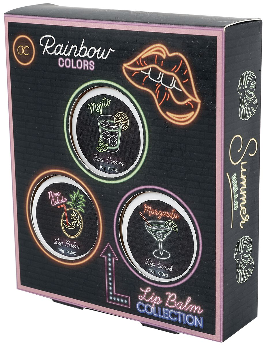 accentra Neon Cocktail Party Balm Collection  Lippenbalsam  multicolor