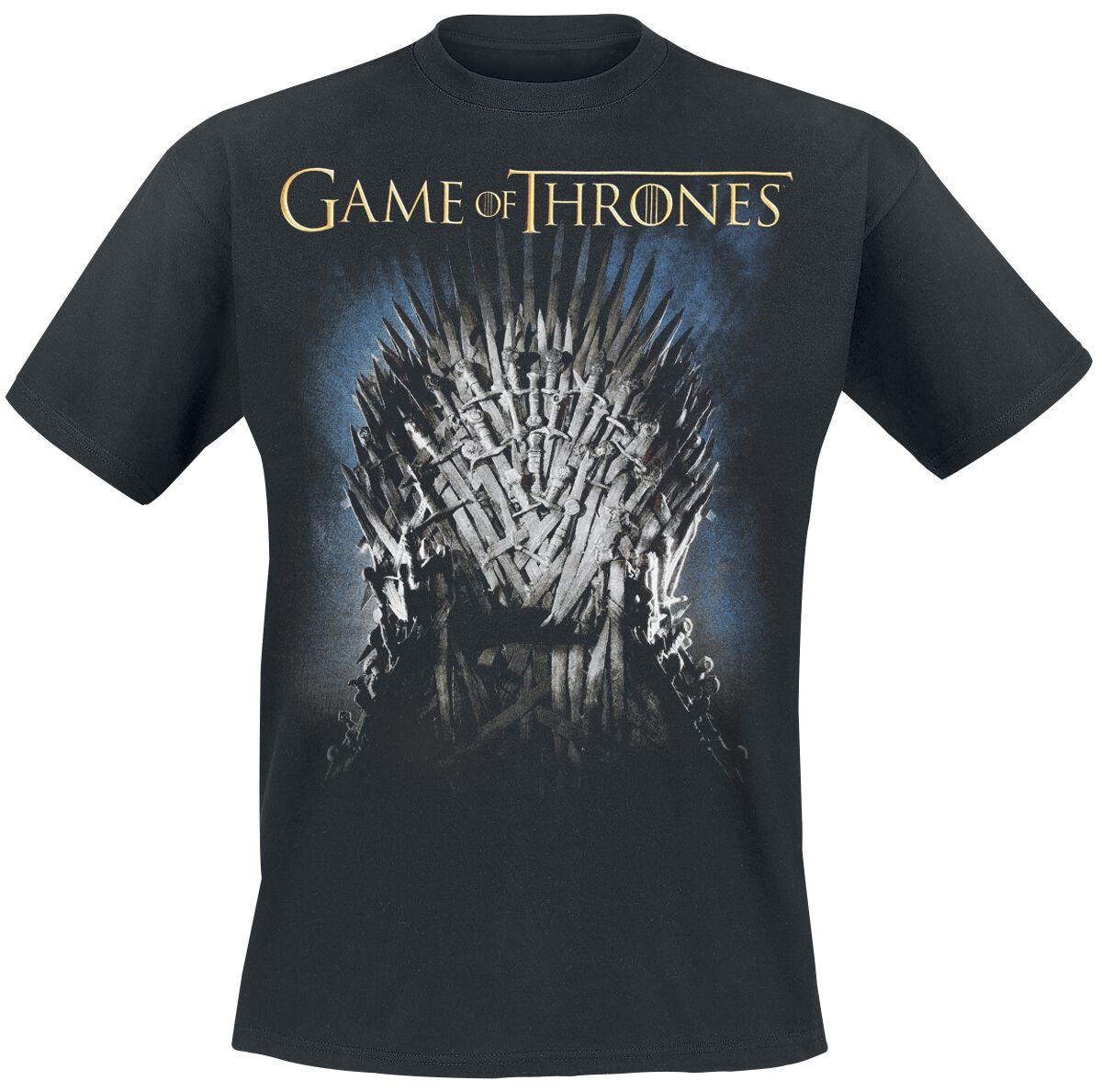 Game Of Thrones The Throne T-Shirt schwarz 136308002