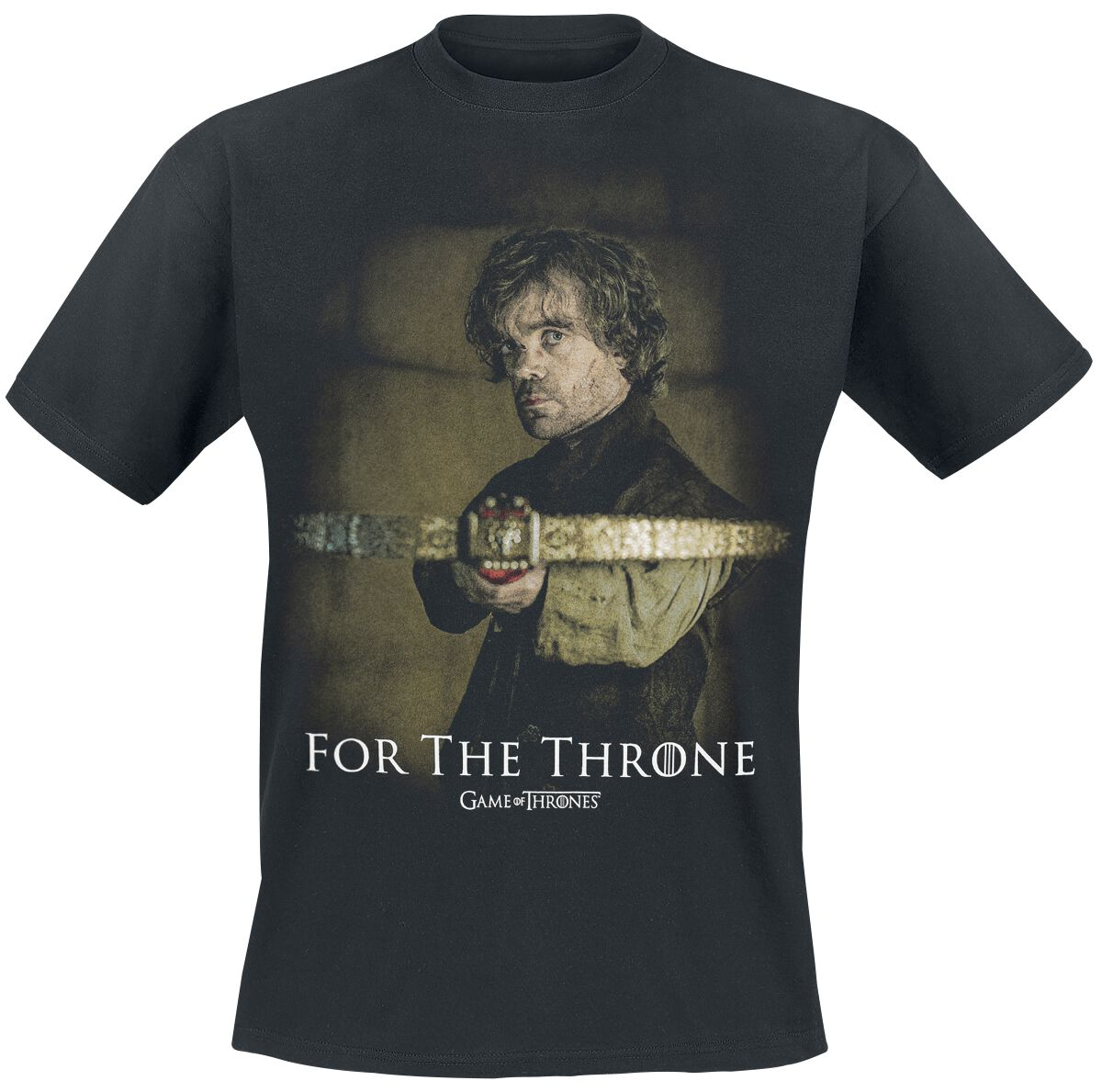 Game Of Thrones For The Throne T-Shirt schwarz 136310004