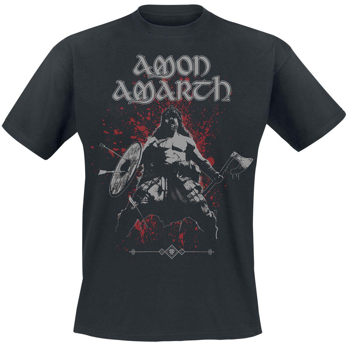 Amon Amarth Berserker T-Shirt schwarz