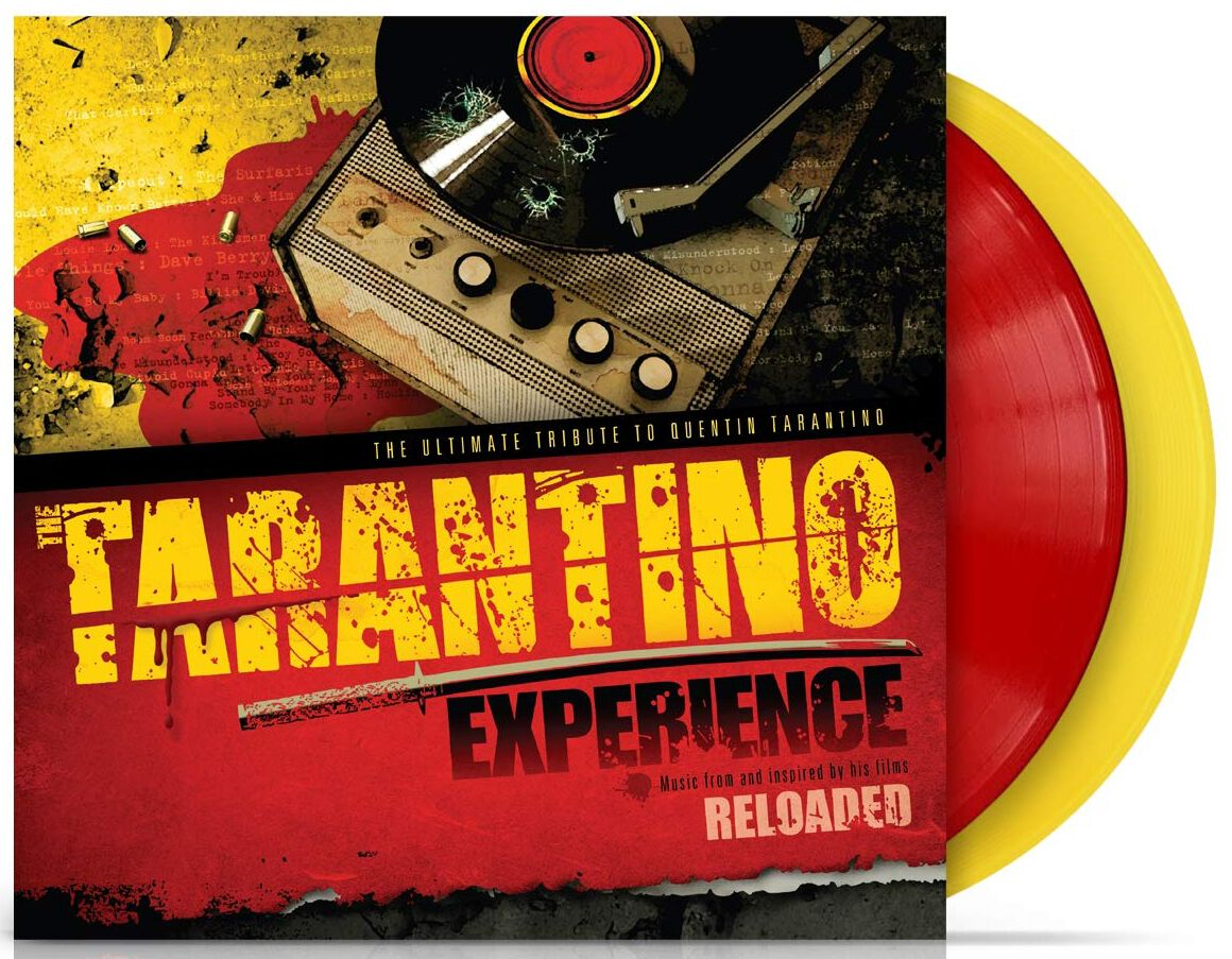 Tarantino Experience Reloaded The ultimate tribute to Quentin Tarantino LP rot gelb VYN55