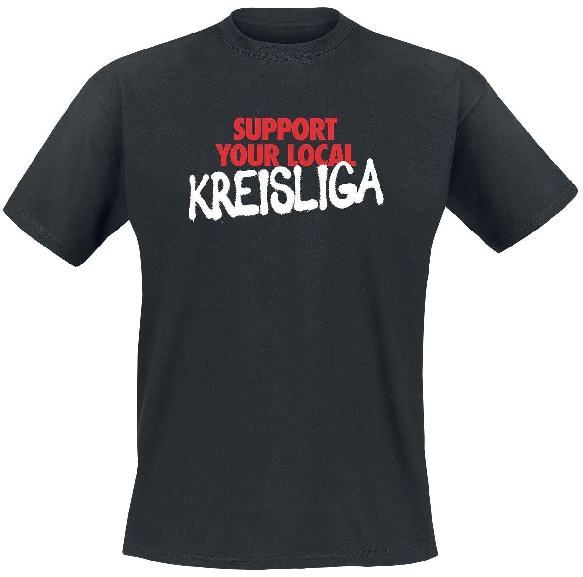 Support Kreisliga T-Shirt schwarz 53037