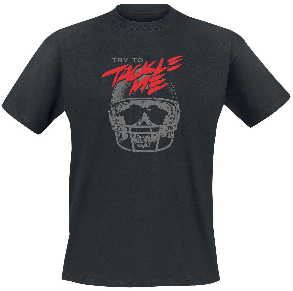 Tackle Me T-Shirt schwarz 53058