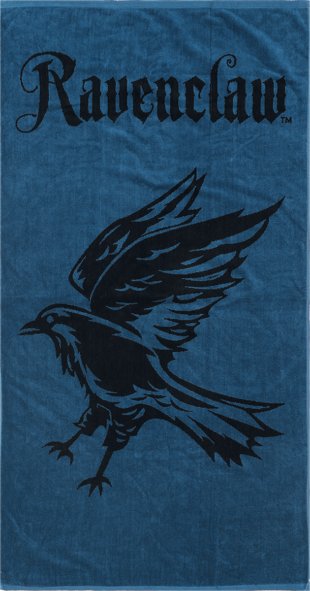 Harry Potter - Ravenclaw - Handtuch - blau  schwarz - EMP Exklusiv!