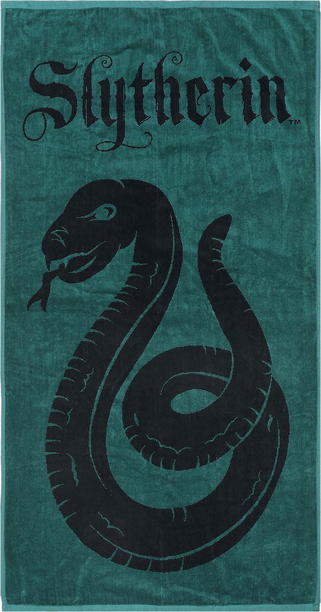 Harry Potter - Slytherin - Handtuch - grün  schwarz - EMP Exklusiv!