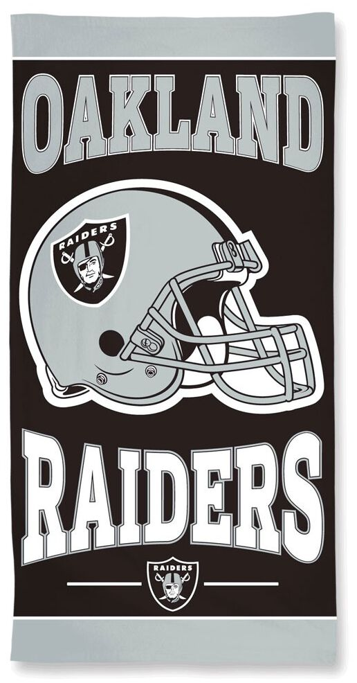 NFL Oakland Raiders  Handtuch  Standard