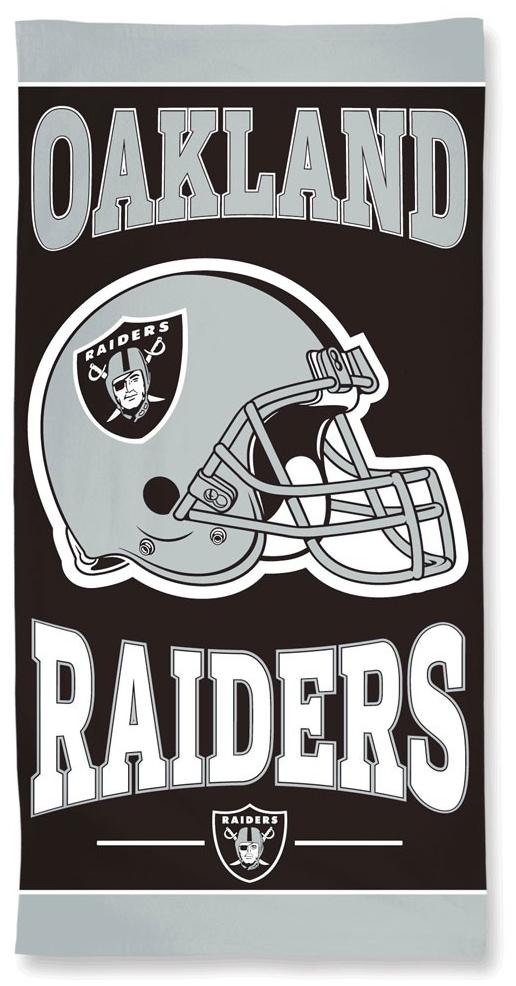 NFL - Oakland Raiders - Handtuch - multicolor