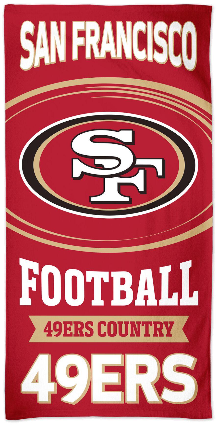 NFL San Francisco 49ers  Handtuch  Standard