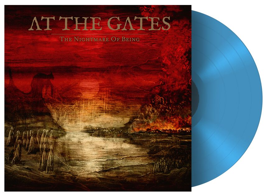 Image of At The Gates The nightmare of being LP farbig