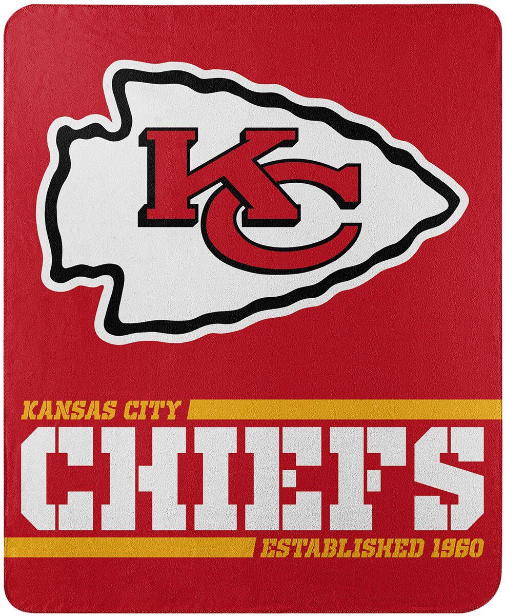 NFL Kansas City Chiefs  Decke  Standard