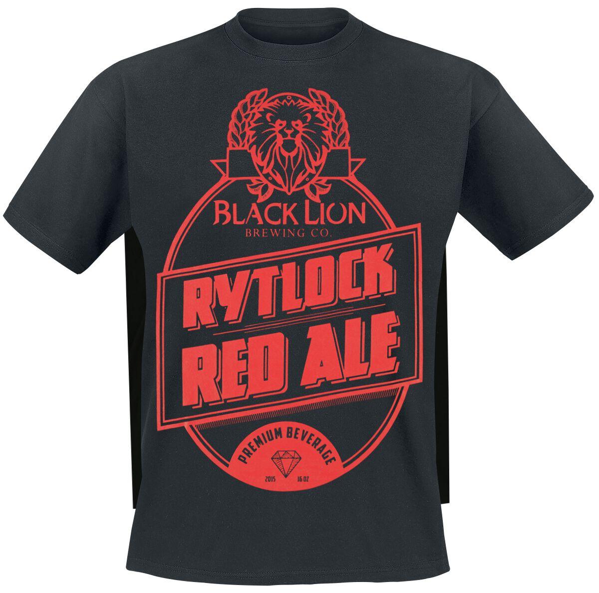 Guild Wars 2 - Rytlock Red Ale T-Shirt schwarz M444229 - B&C #E150