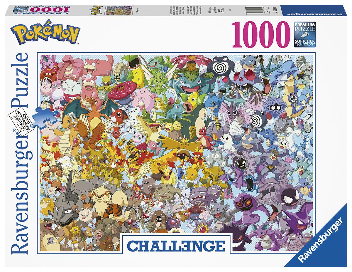 Pokémon Pokémon Challenge Puzzle Puzzle multicolor 15166