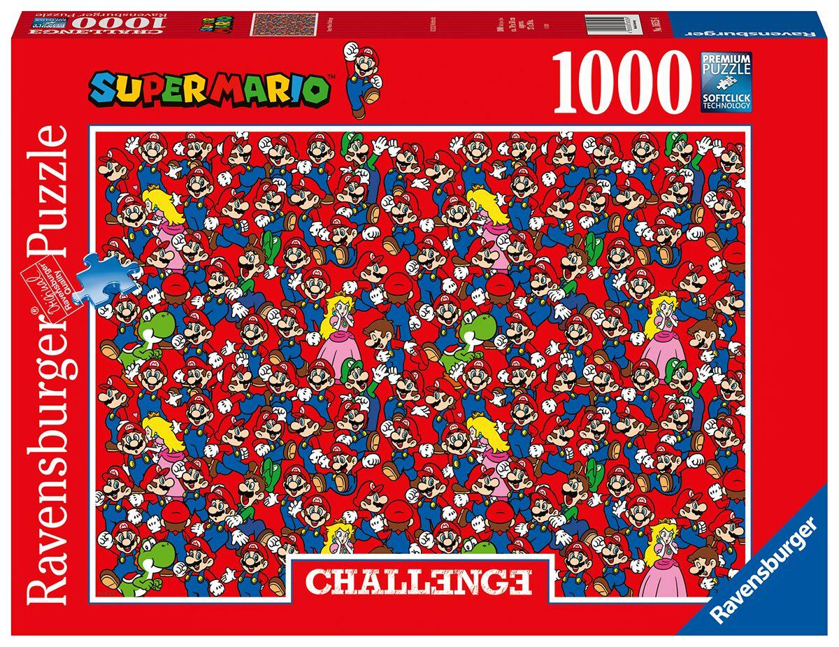 Super Mario Super Mario Challenge Puzzle Puzzle multicolor 16525