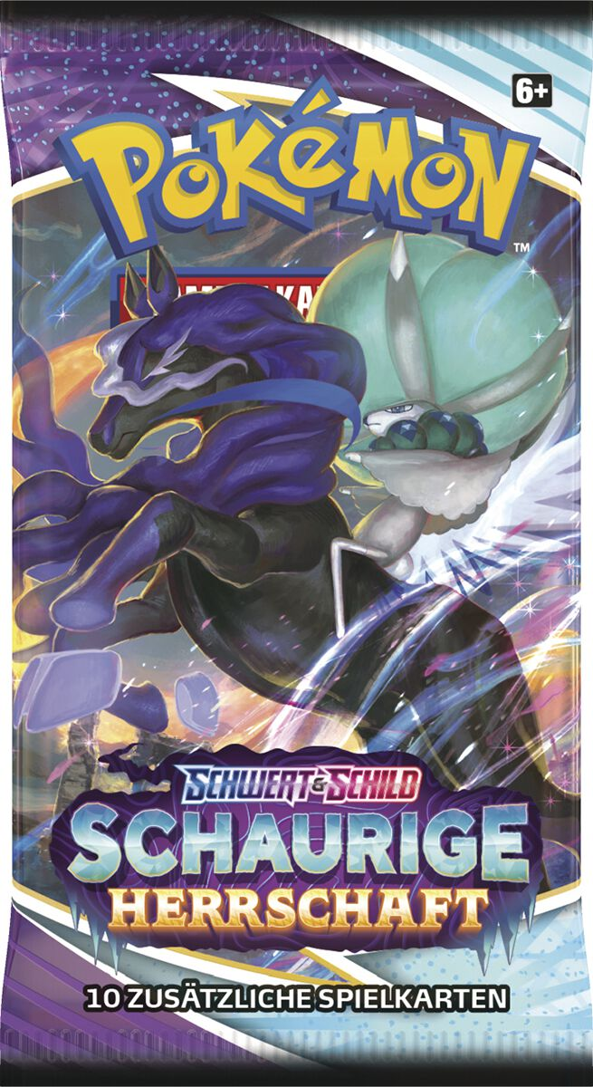 Pokémon Schwert & Schild - 06 Booster Kartenspiel multicolor 45289