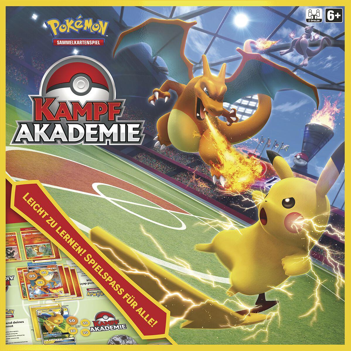 Pokémon Kampfakademie Kartenspiel multicolor 45251