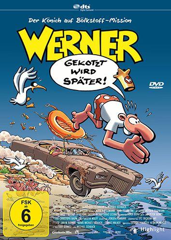 Werner - Gekotzt wird später! DVD Standard