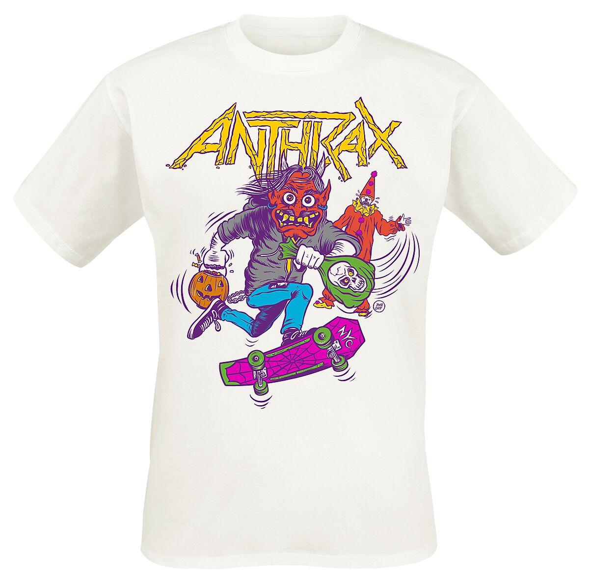 Image of Anthrax Halloween 2015 T-Shirt weiß