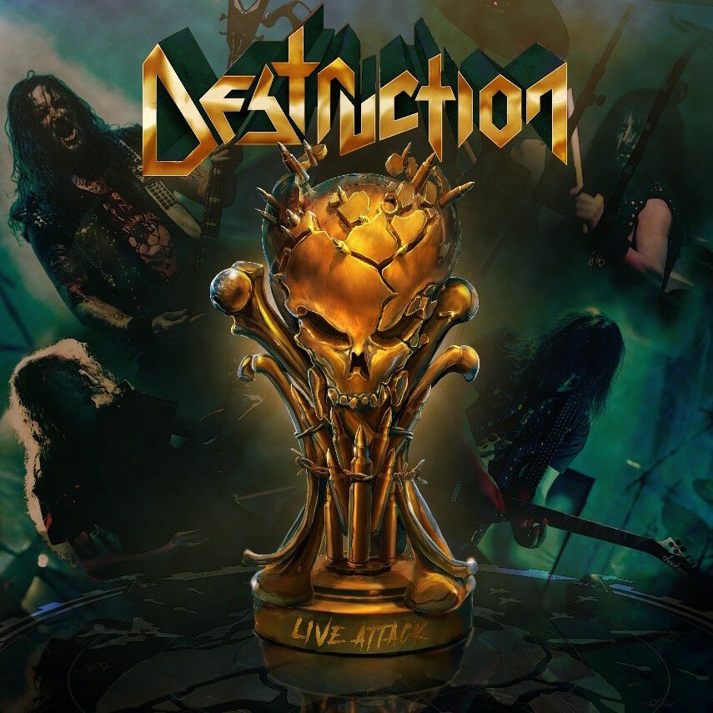 Destruction Live attack  Blu-Ray  Standard