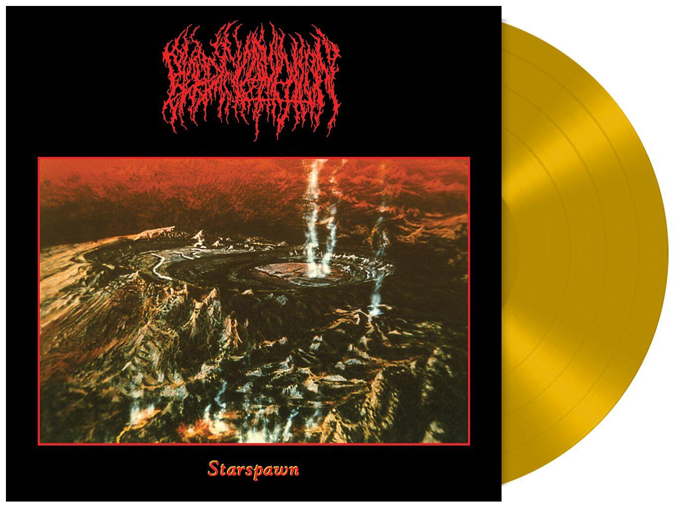 Blood Incantation Starspawn  LP  goldfarben