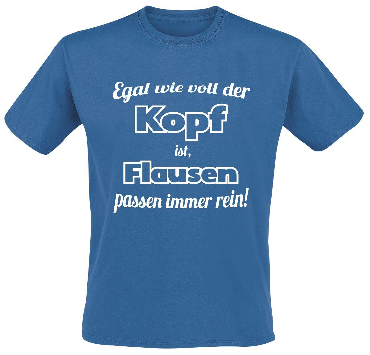 Flausen T-Shirt blau T2721