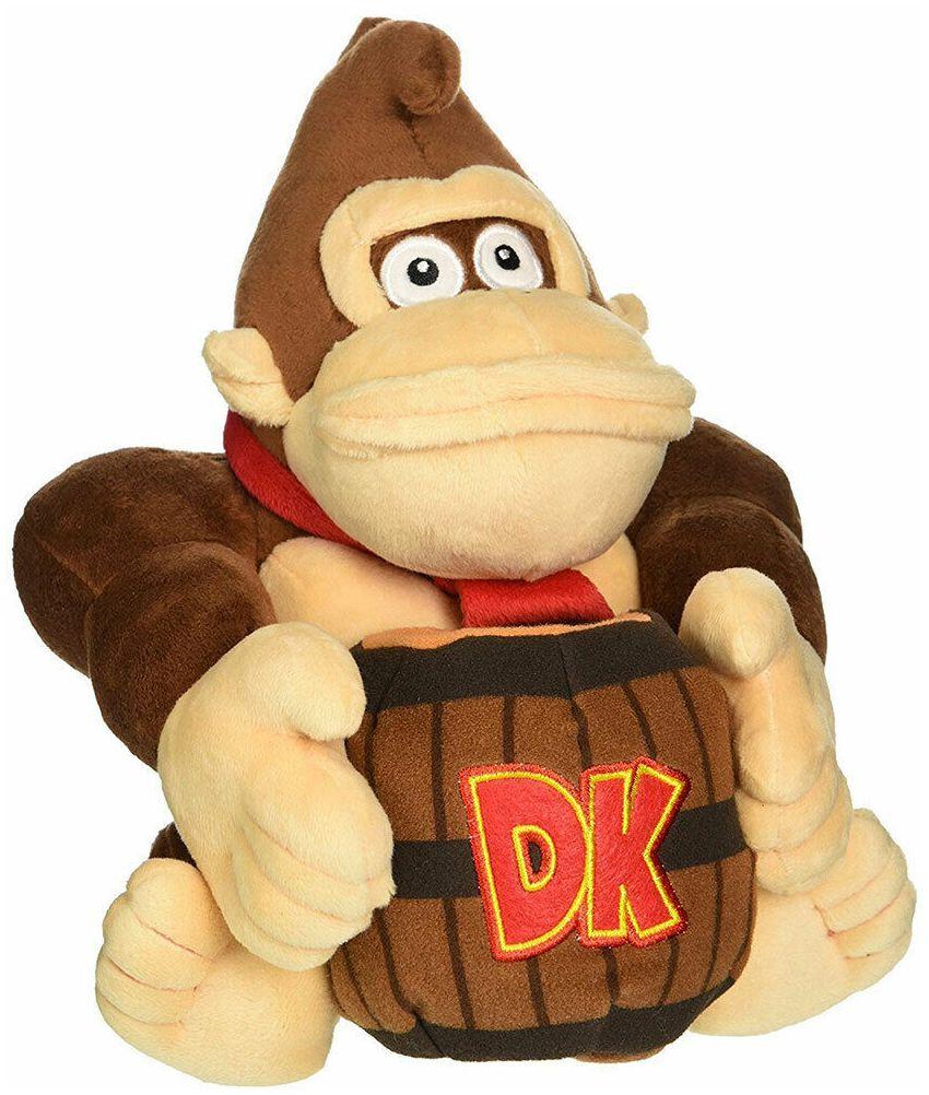Super Mario Donkey Kong mit Faß  Plüschfigur  Standard