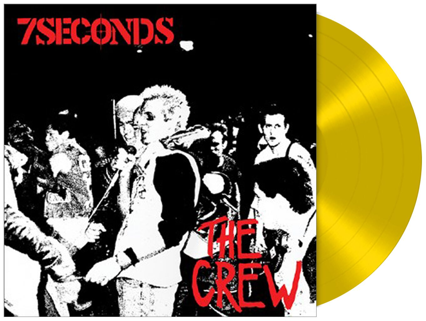 Image of 7 Seconds The crew LP gelb