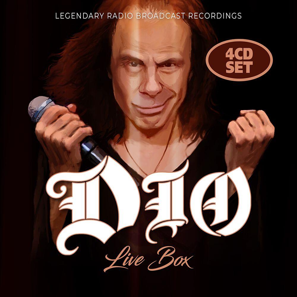 Image of Dio Live-Box 4-CD Standard