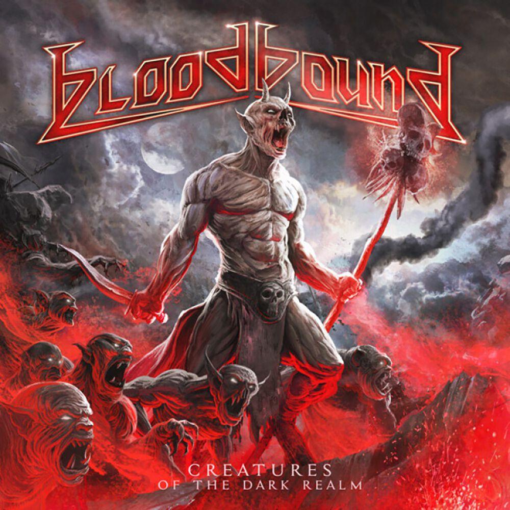 Bloodbound Creatures of the dark realm LP rot AFM 76414