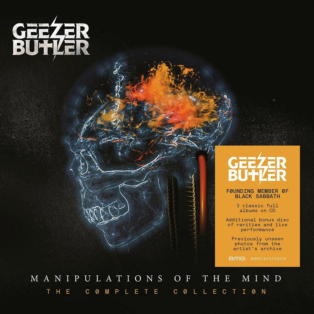Image of Geezer Butler Manipulations of the mind - The complete collection 4-CD Standard