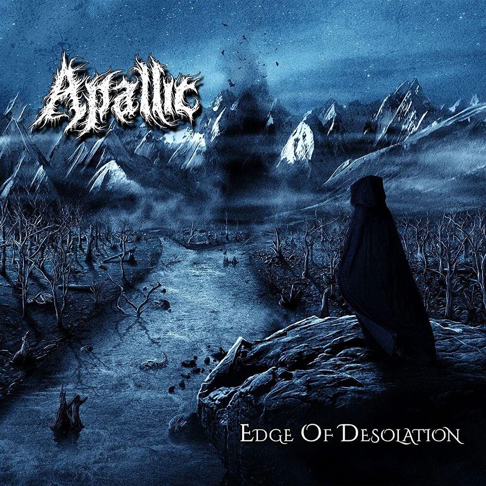 Image of Apallic Edge of desolation CD Standard