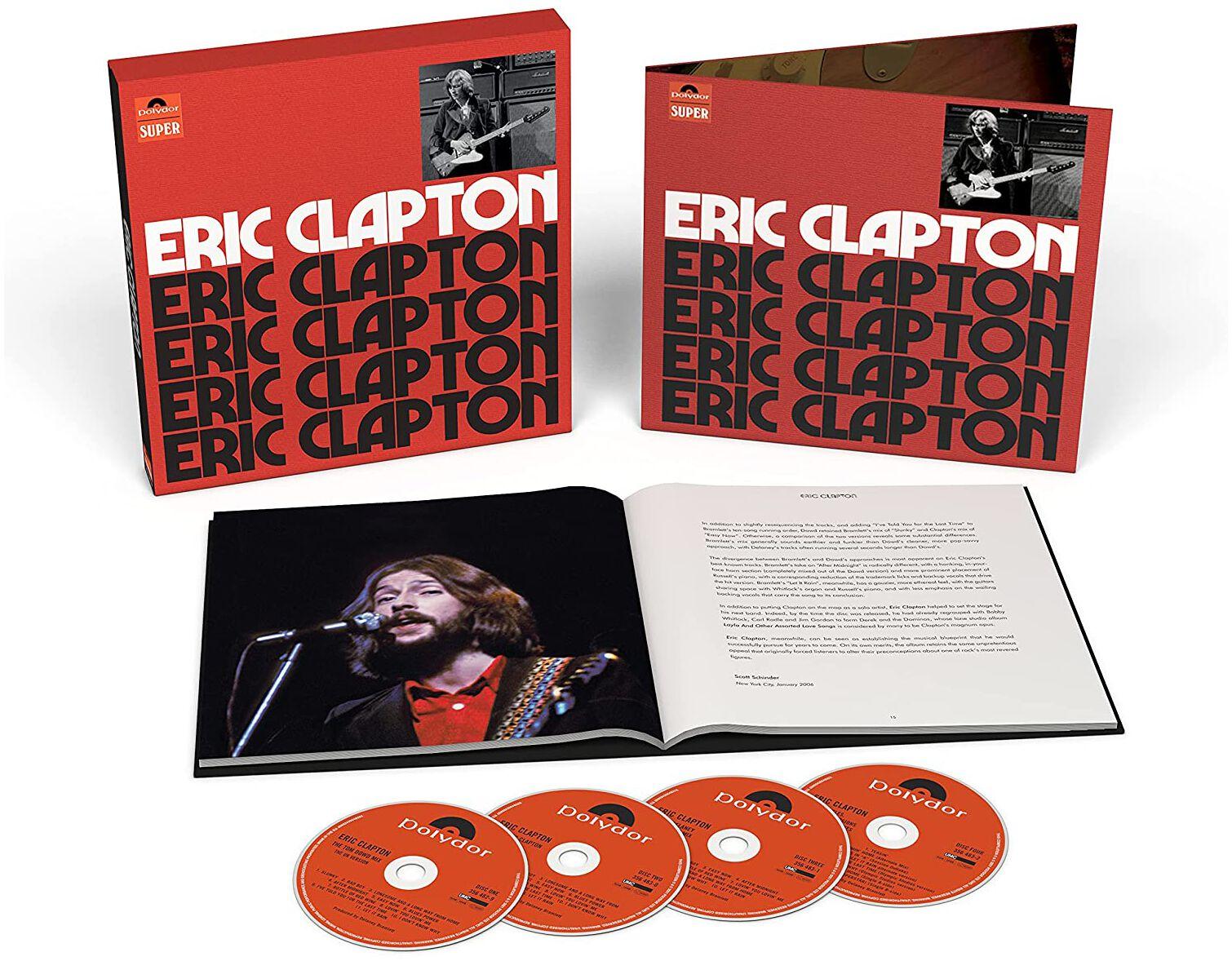 Image of Clapton, Eric Eric clapton 4-CD Standard