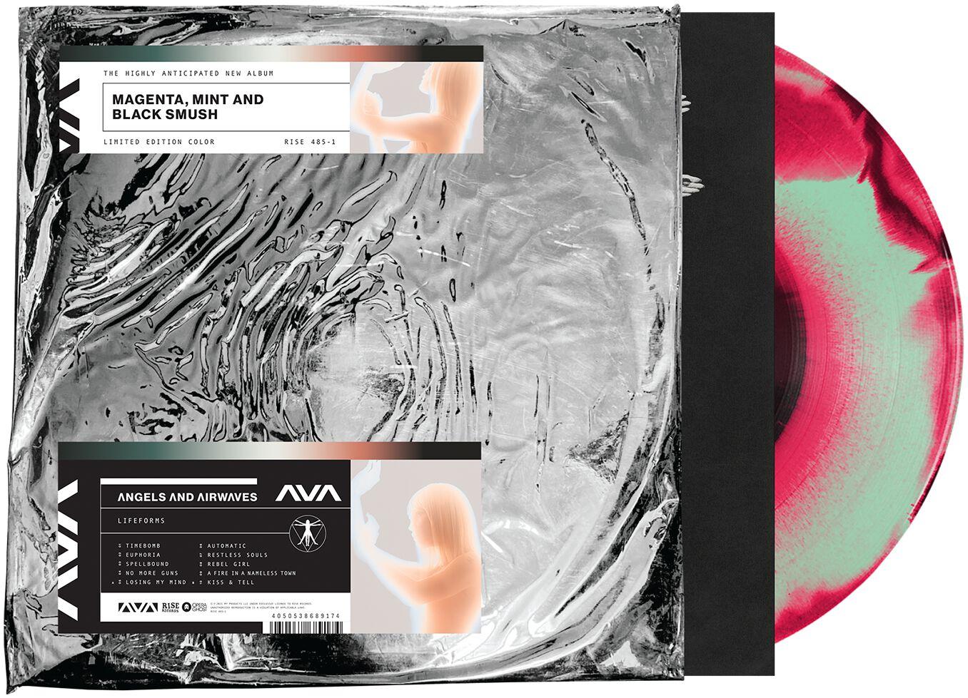 Image of Angels & Airwaves Lifeforms LP farbig