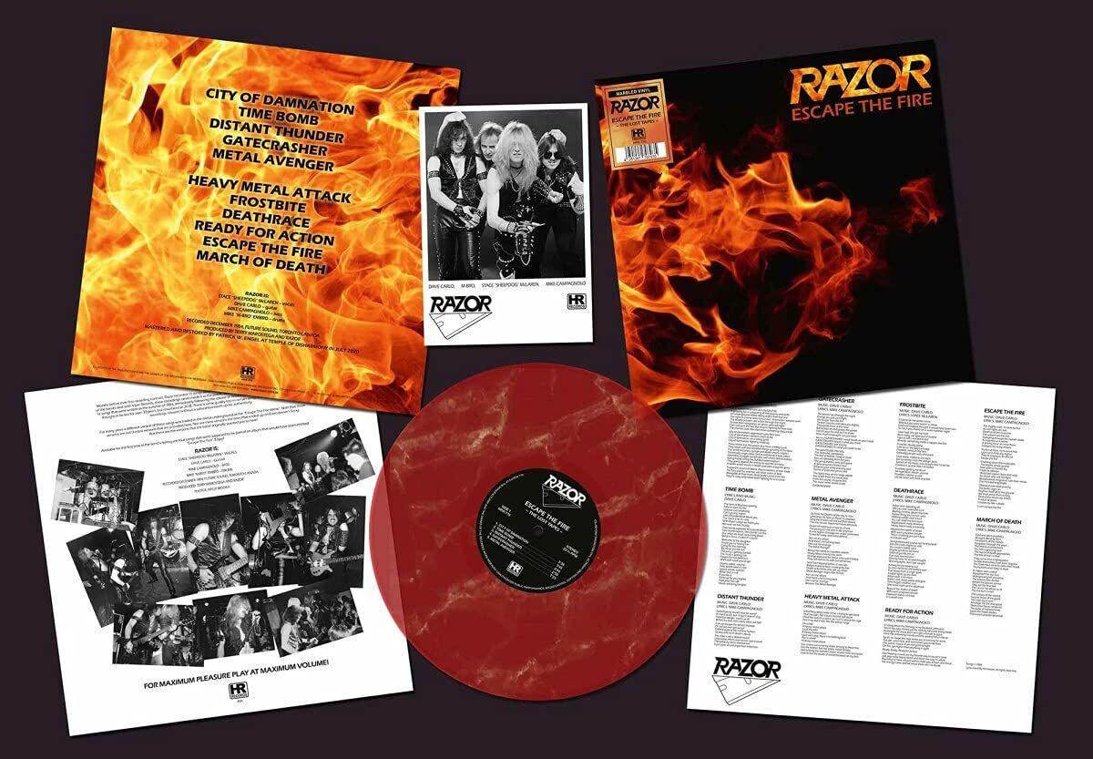 Razor Escape the fire LP marmoriert HRR 779LPM